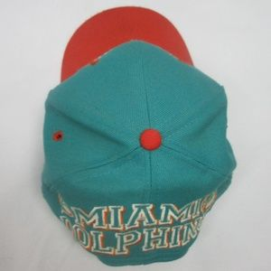Drew Pearson Accessories - Vintage Miami Dolphins Snapback Hat 12791cf5c